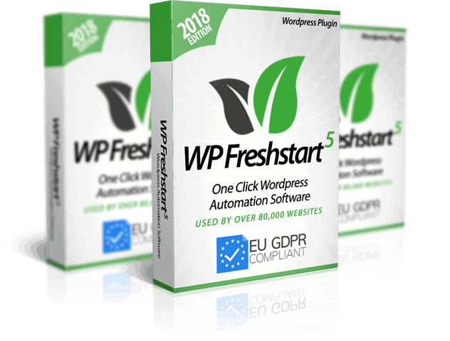 WP Freshstart 5 Review – Create Fully Loaded WordPress Sites in 60 seconds. 3